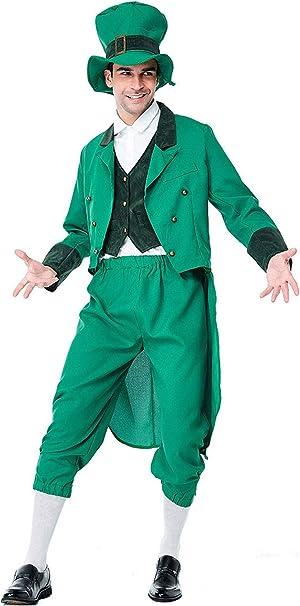 Amazon.com: Disfraz de elfo verde para adulto, disfraz ...