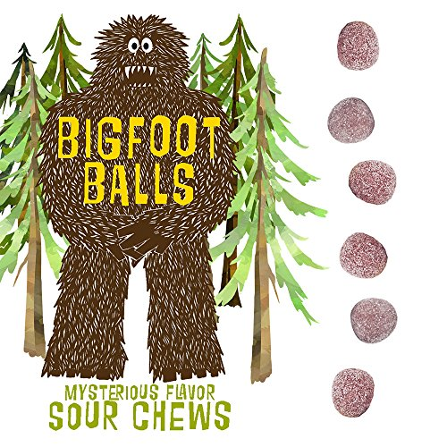 Bigfoot Ballz Sour Candy – Mystery Flavor Balls – MADE IN THE USA