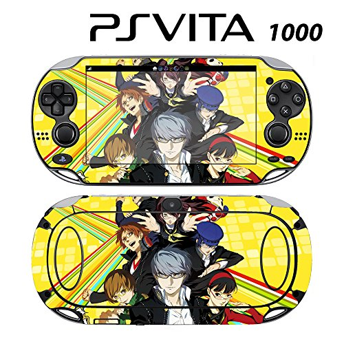 Decorative Video Game Skin Decal Cover Sticker for Sony PlayStation PS Vita (PCH-1000) - Personal G4 (Best Vinyl Skin Designs Ps Vita Games)