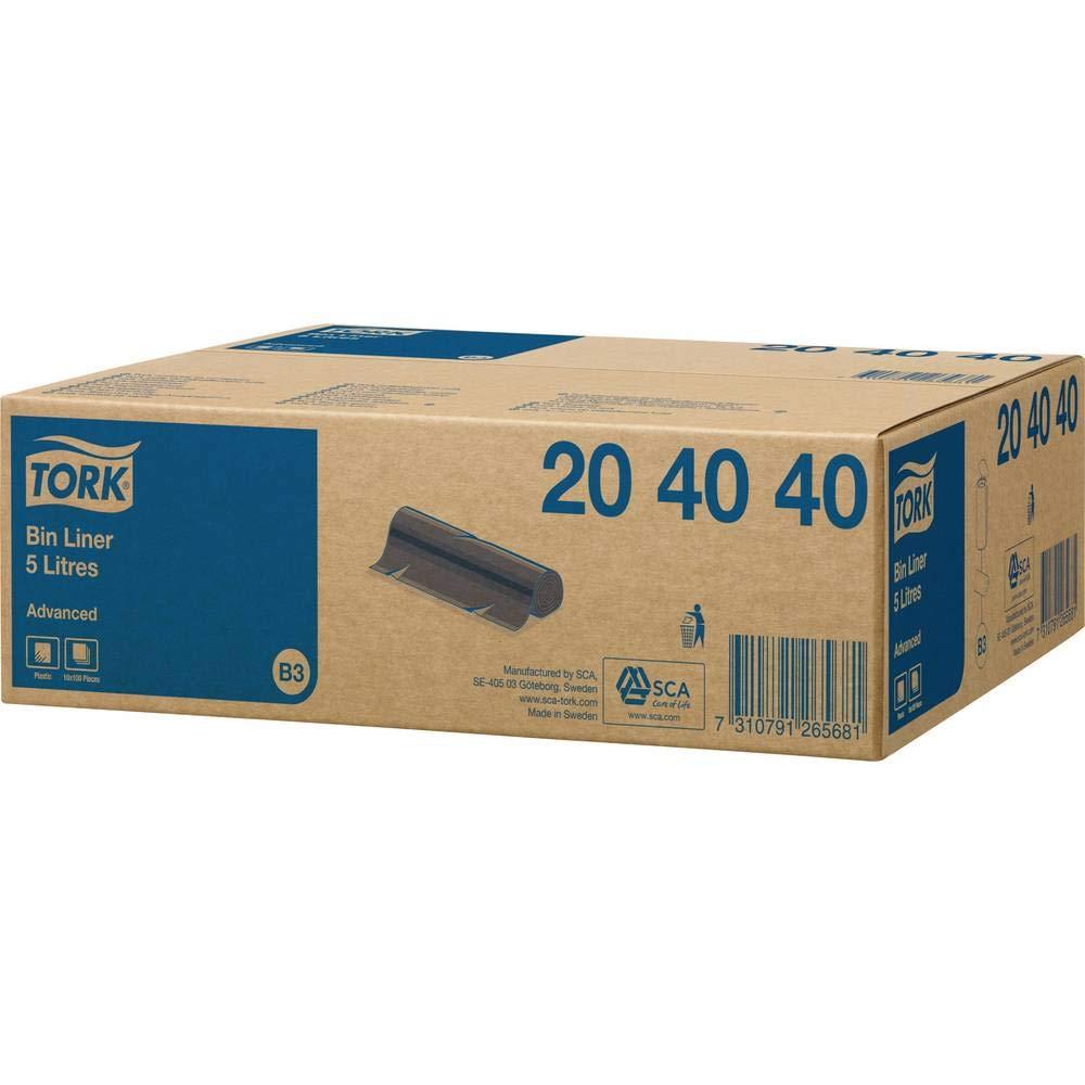Tork 564000 Cestino Spazzatura Mini Sistema B3 33.8X19X16 cm in Plastica Resistente Bianco