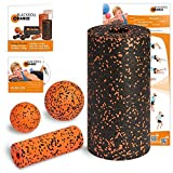 Blackroll Orange (the original) - THE self-massage roller - Standard starter set incl. exercise DVD, exercise poster and booklet by blackroll-orange / Dr. Paul Koch GmbH