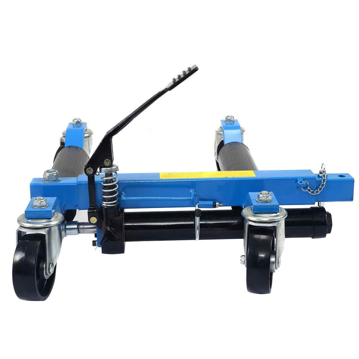 COSTWAY Rangierhilfe hydraulisch Rangierroller f/ür Pkw Auto Wagenheber gummiauflage Schwarz Rangierheber Rangierwagenheber Autoheber belastbar bis 680KG