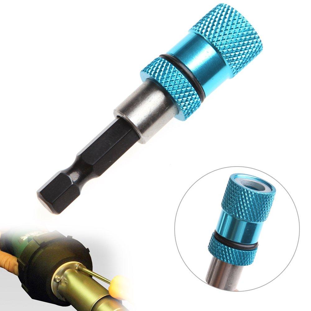 Outil de vissage Porte-embout magn/étique durable /à tige hexagonale pour cloison s/èche