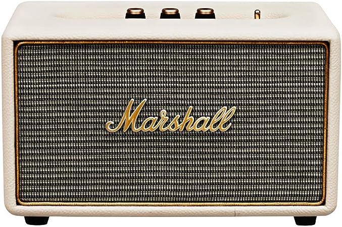 Marshall Acton Bt Bluetooth Altoparlante Crema Amazon It Elettronica