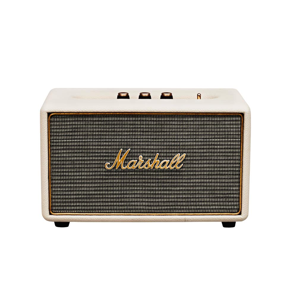 Marshall Acton Bluetooth - Altavoz (Bluetooth v4.0, Conectividad  inalámbrica/alámbrica, Bass-reflex, 103 dB, 50 - 20.000 Hz), color crema