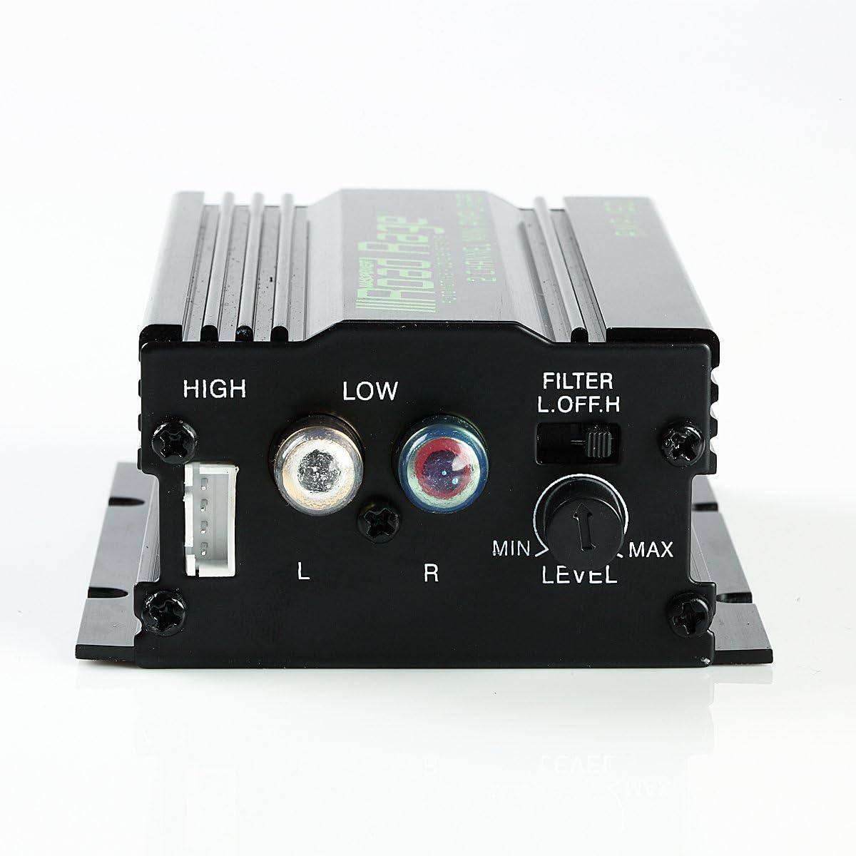 150 Watts Car mini Audio Amplifier with knob Audio level adjustment