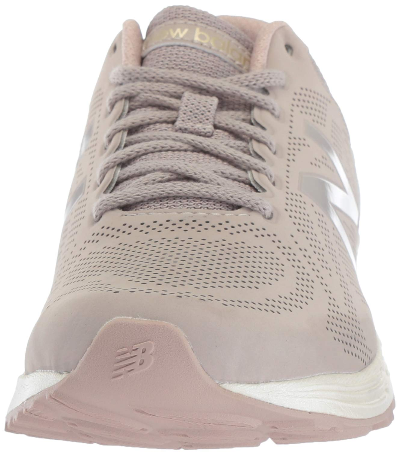 New Balance Women's Fresh Foam Arishi V1 Running Shoe, Flat White/au Lait 5 B US by New Balance (Image #4)