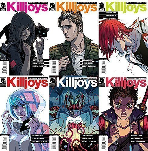 True Lives of the Fabulous Killjoys Complete Set Issues - Life Fabulous