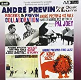 4 Classic Albums - Andre Previn -West Side Story / Collaboration / King Size / Pal