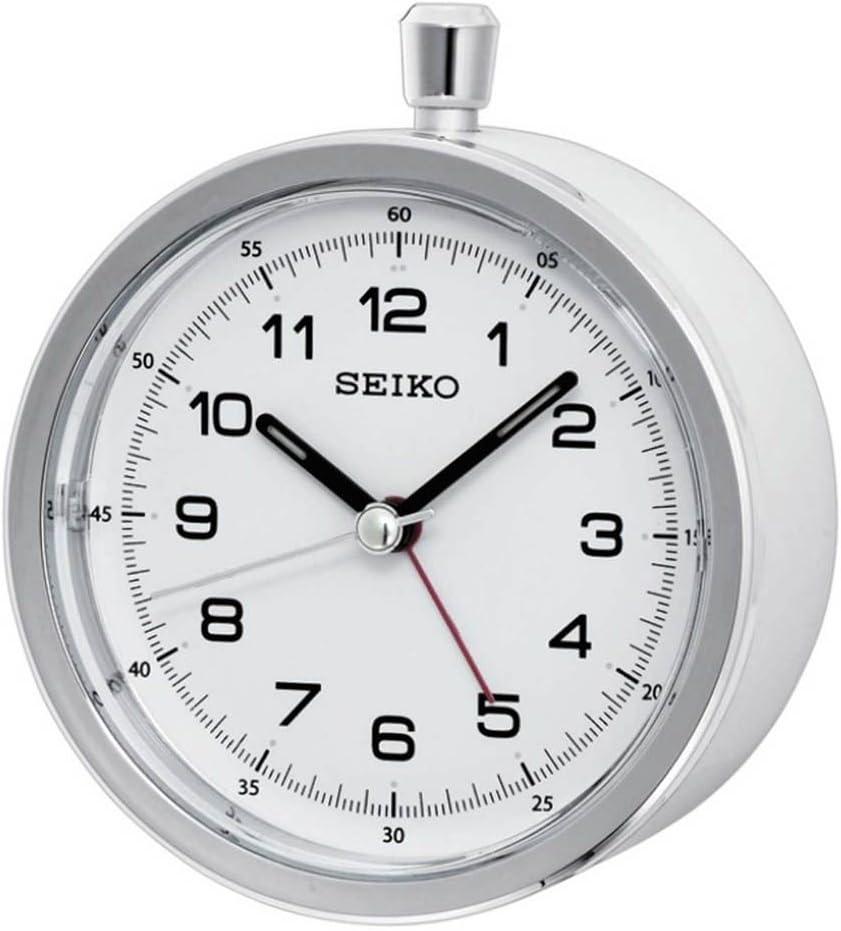 Seiko QHE088W - Reloj despertador de sobremesa