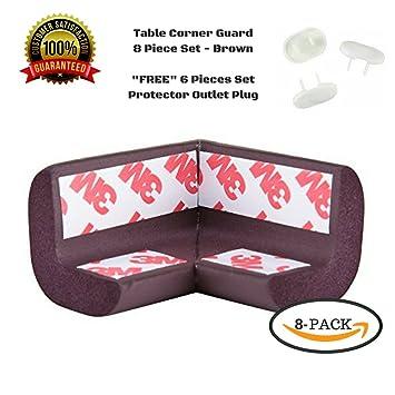 Corner Guards, Baby Bumpers, Furniture Corner Protector, 3M Tape, 8pc, +