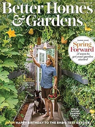 Better Homes Amp Gardens Amazon Com Magazines