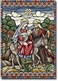 Stained Glass Nativity – 28″ x 40″ Toland Art Banner Review