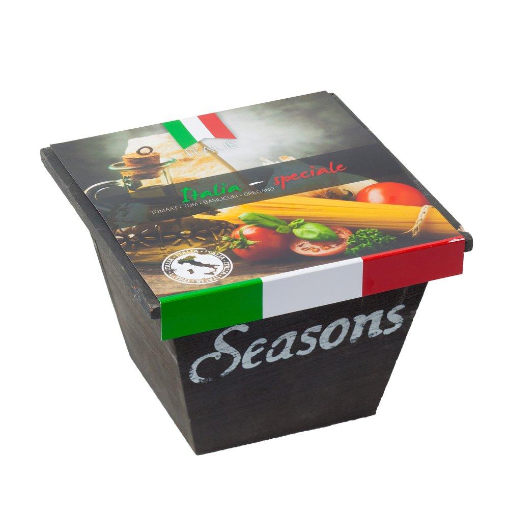 Italia Speciale Holzbox Krä utersamen Samen Natur Garten Geschenkset von notrash2003 notrash2003®