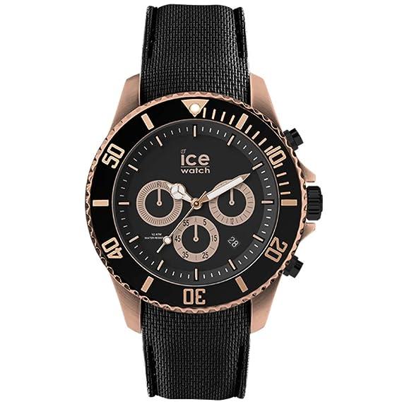Steel Hombre Ice Watch Ic016305 Negro es Reloj SiliconaAmazon vO80nwmN
