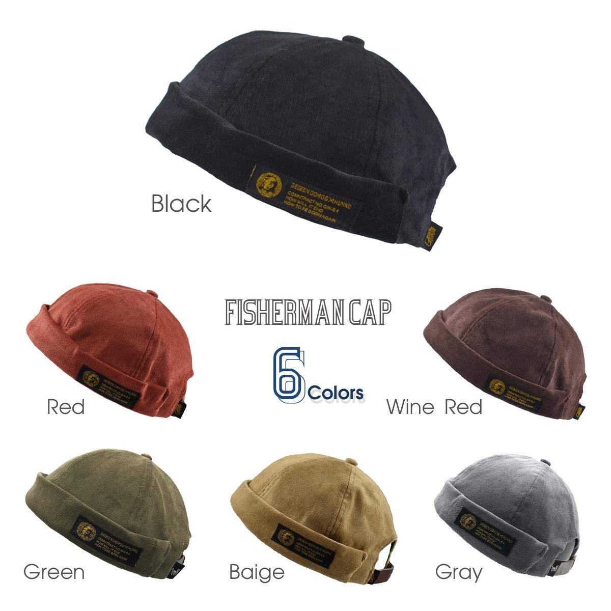 afb8a004b73f8 Amazon | [ネッカー] 帽子 キャップ フィッシャーマンキャップ ロールキャップ サグキャップ ツバ無し (緑) | キャップ 通販