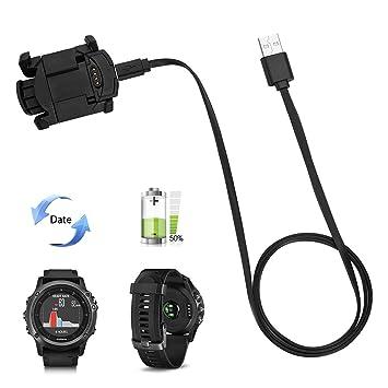 Garmin Charger Cable, Clip de carga para reloj Garmin Fenix 3 ...