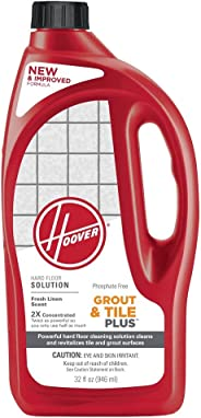 HOOVER FloorMate Grout & Tile Plus Hard Floor Cleaning Solution Formula, 32 oz, AH30435