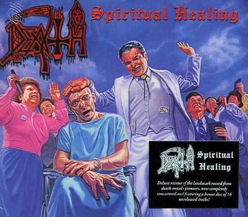 CD : Death - Spiritual Healing (2 Disc)