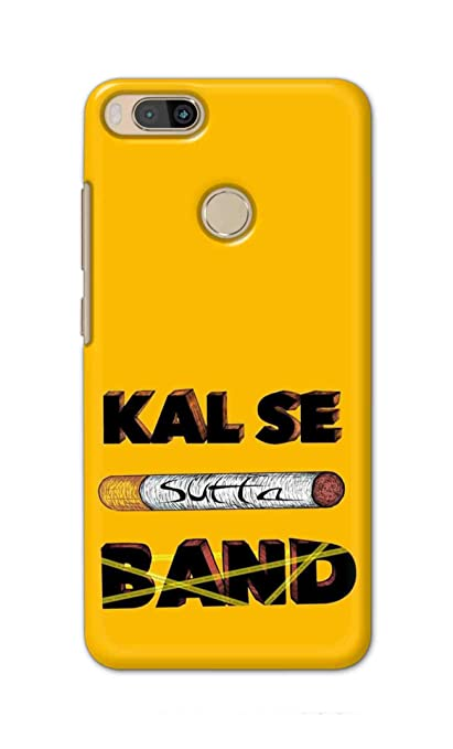 Kal Se Sutta Band Designer Back Cover for Xiaomi Mi A1