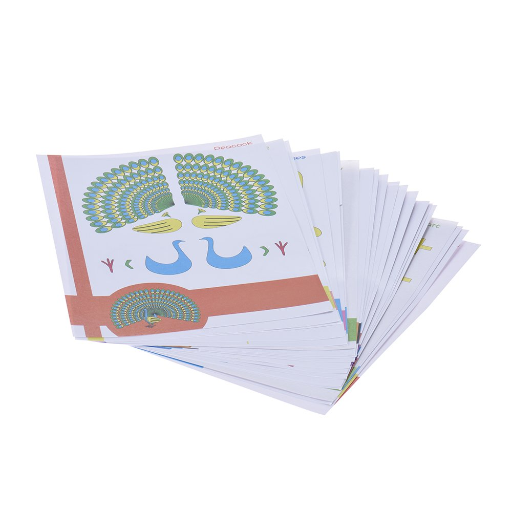 Docooler 20pcs pack 3D Impression Stylo Photo Moule Creative Cartoon Enfants Cadeau