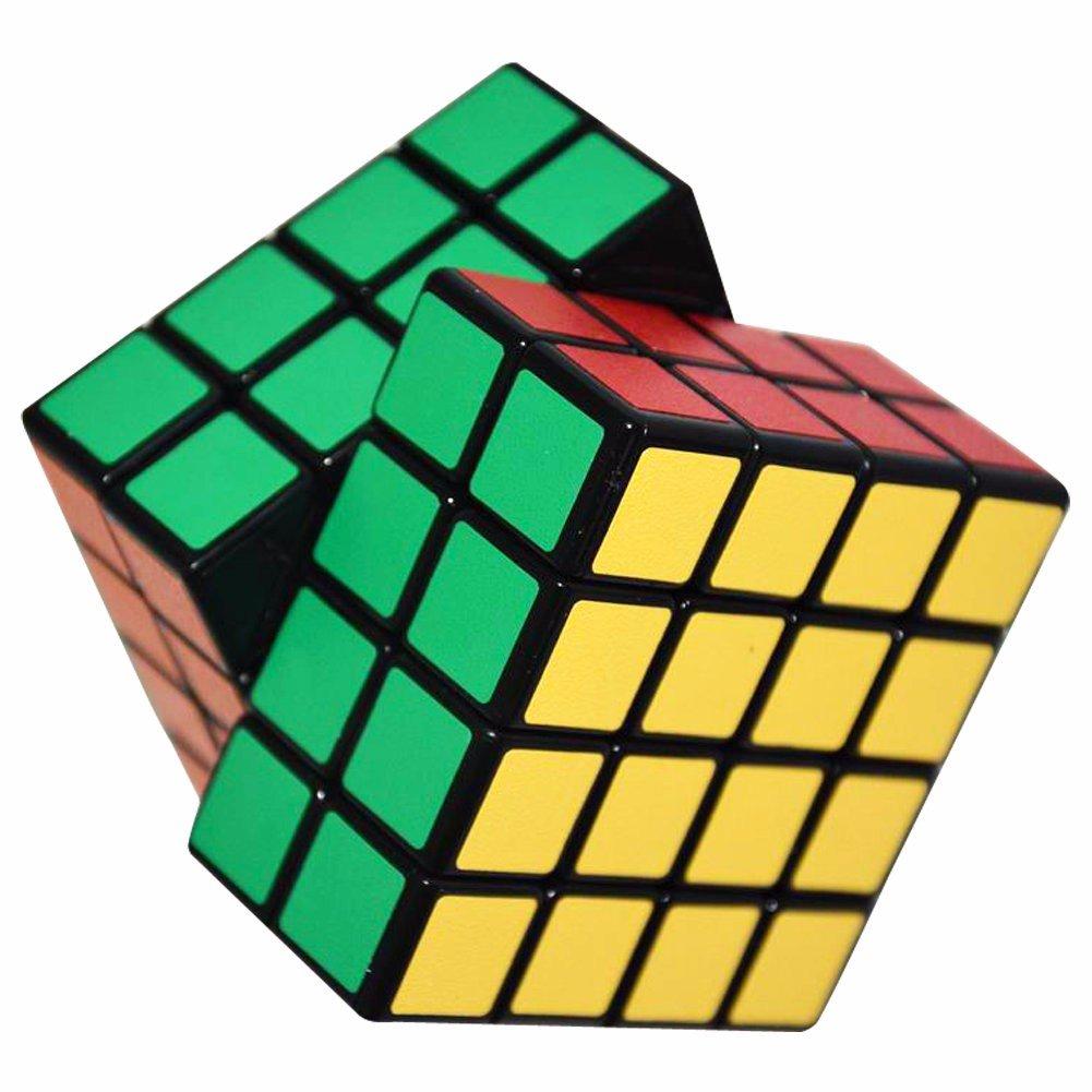 LSMY 1 2x2 Puzzle W/ürfel Spielzeug Schwarz