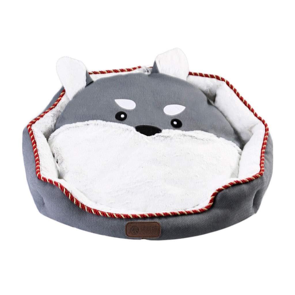 G 55 655533;655533;655533;19cm A Cute Pet Nest a prova d'acqua, Middle /Small Dog Cat /Dog Bed, BiteResistent Pet Supply Mat (Colore: Orange50 21540;215cm)