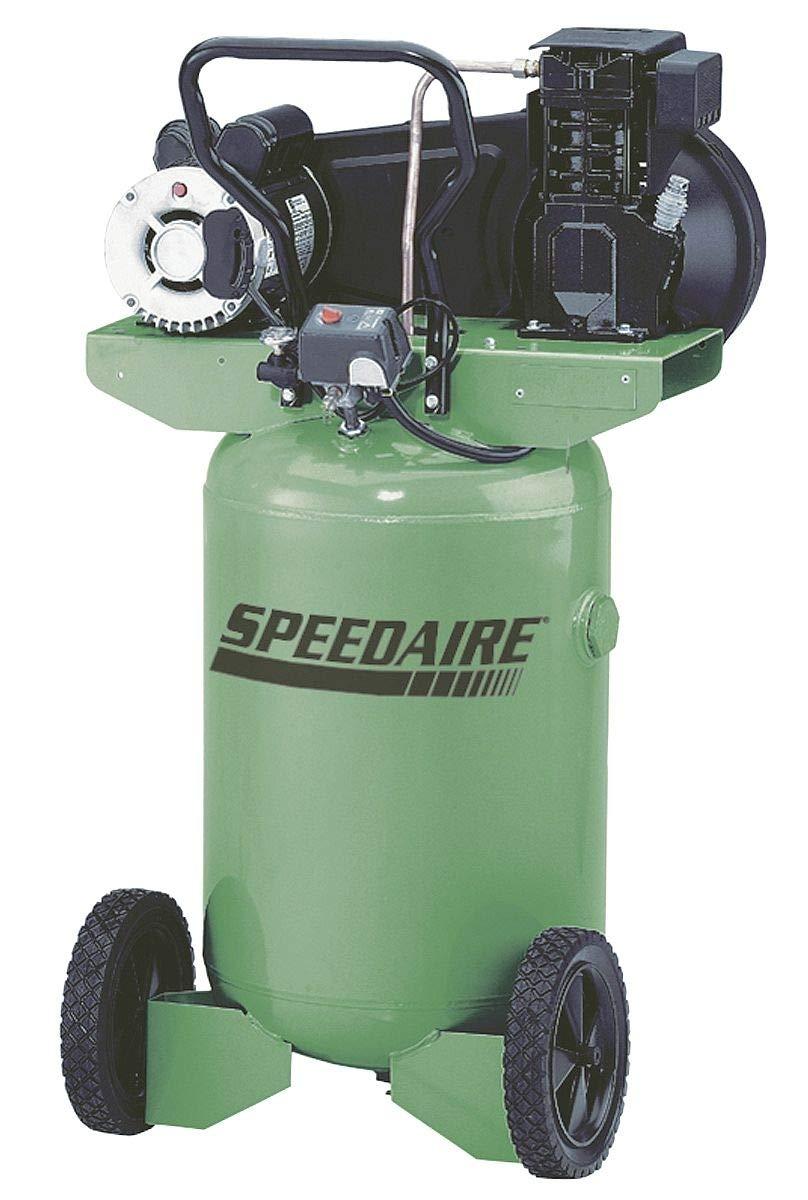 Amazon.com: Speedaire 20 HP, 115/230VAC, 20 gal Portable Electric Barrel Air Compressor, 135 psi - 4TW29: Home Improvement