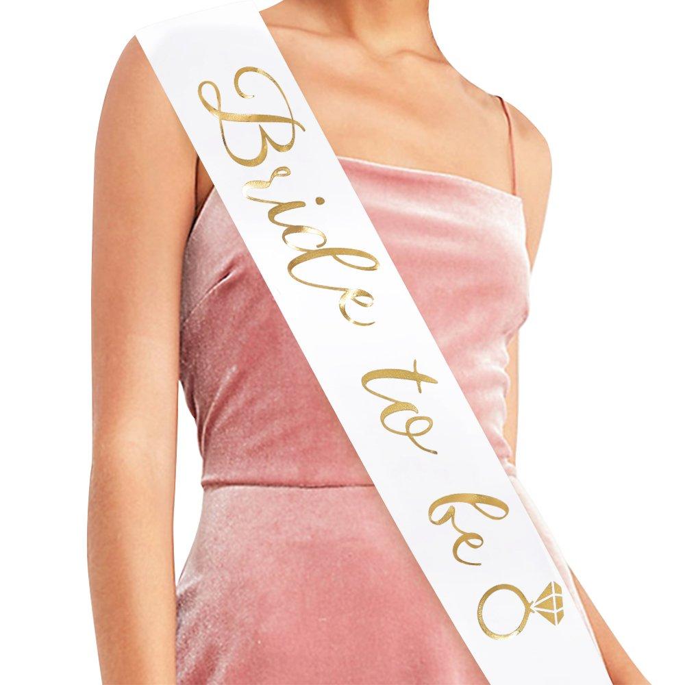 Amazon.com: Bride To Be Sash - Bachelorette Party Bridal Shower ...