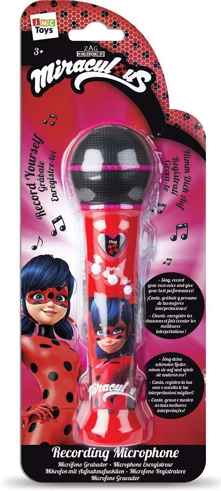 IMC Toys Microfono Registratore Miraculous Ladybug, 442016 ZAGTOON