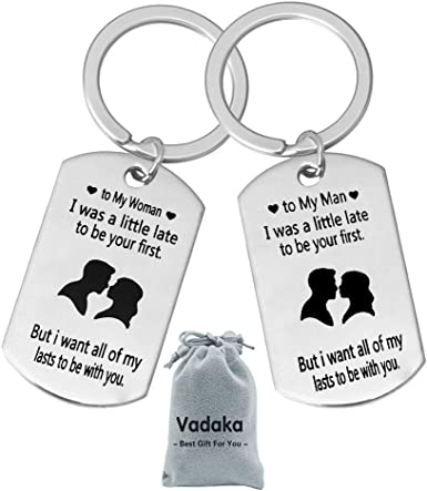 Personalized Keychain Matching Keychain With Your Face Couple Keychain Unique Keychain Mermaid Valentines Gift Family Keychain