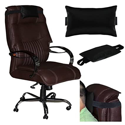 Buy Acm Leather Cushion Pillow Head Neck Rest For High Back Office