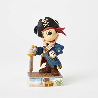 Jim Shore Disney Traditions by Enesco Mickey Pirate Figurine