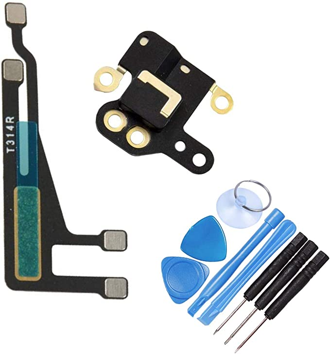 THE TECH DOCTOR - Cable Flexible de Antena WiFi y Cubierta para GPS para iPhone 6, Completo con Herramientas, Kit de reparación Profesional