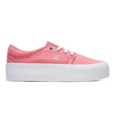 DC Women's Trase Platform TX SE Skate Shoe   Shoes