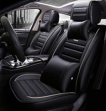 Ededi Luxury Leather Car Seat Covers Universal Car Seat Cushion