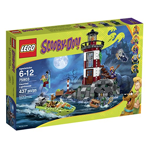 LEGO Scooby-Doo 75903 Haunted Lighthouse Building - Mini House Haunted