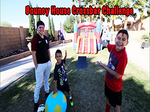 Bouncy House Crossback Challenge And Dodgeball