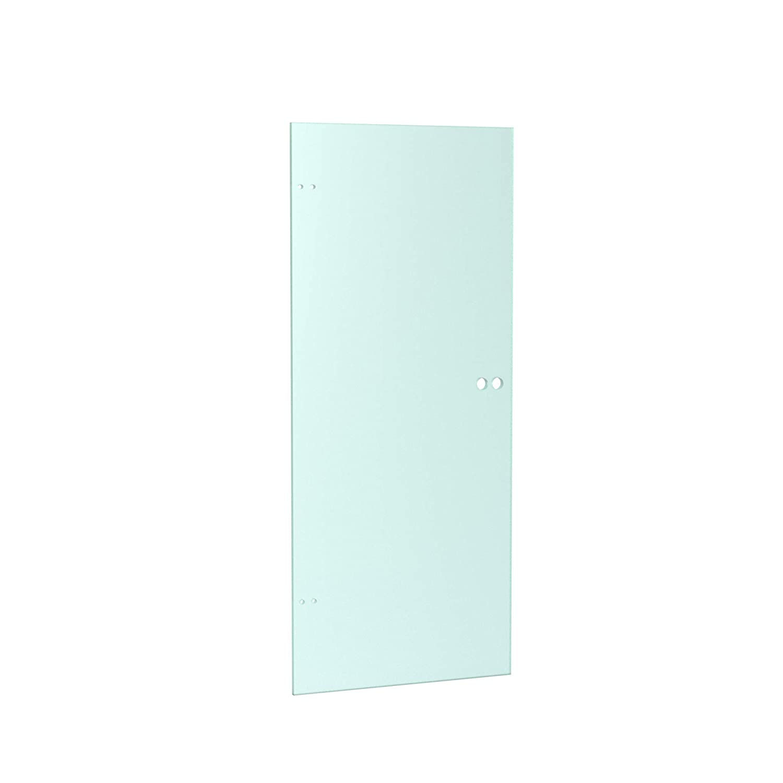 Duradoor Ganzglast/ürblatt ESG in klar DIN 2097 mm x 959 mm x 8 mm Zimmert/ür Schwingt/ür Innent/ür Schwebet/ür Schwenkt/ür