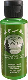 product image for Badger Air-Brush Co. 4-Ounce Woods and Water Airbrush Ready Water Based Acrylic Paint, Candy Green