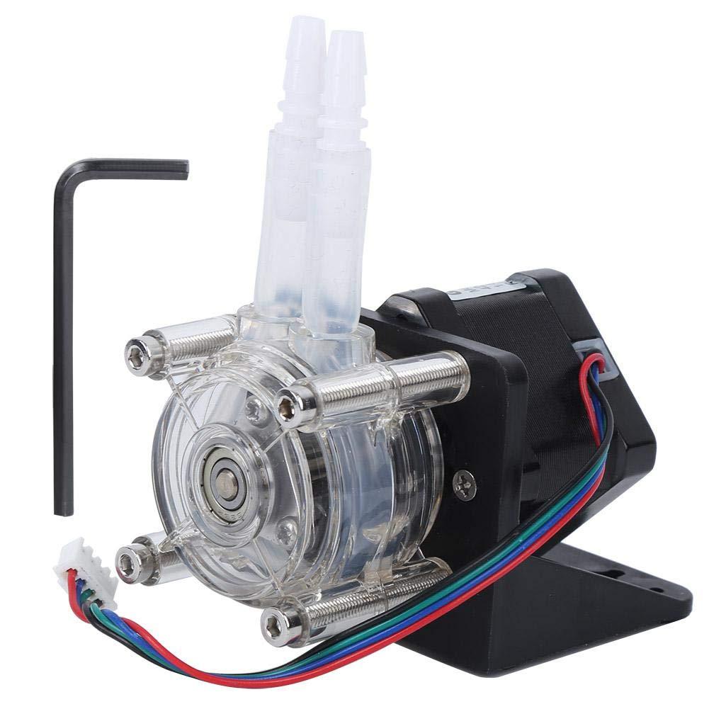 DIY Dosing Pump Right Angle Drip Metering Pump Dosing Pump Mounted Seat Peristaltic Pump for pharmaceuticals