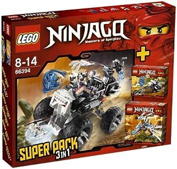 LEGO Ninjago 66394 Super Pack 3 en 1 (2506, 2260, 2259): Amazon.es ...