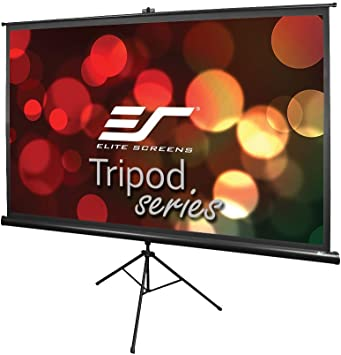 Almost HD Projector Screen Movie Screen Portable Folding Anti-Crease Indoor Outdoor Projector Movies Screen for Home,Screen Size 60inch,72inch,84inch,92inch Projection Screens