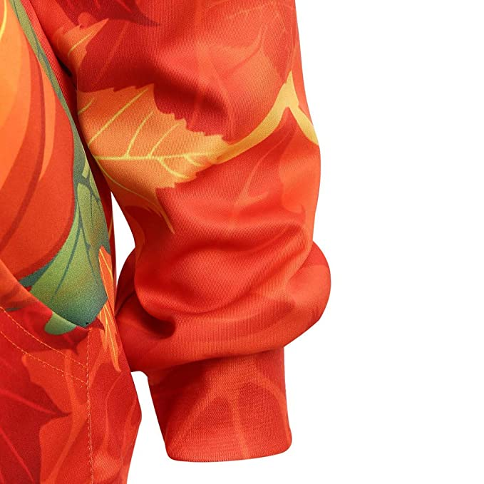 Luckycat Manga Larga de Las Mujeres con cordón de Halloween Skull Kangaroo Bolsillo con Capucha Blusa Top: Amazon.es: Ropa y accesorios