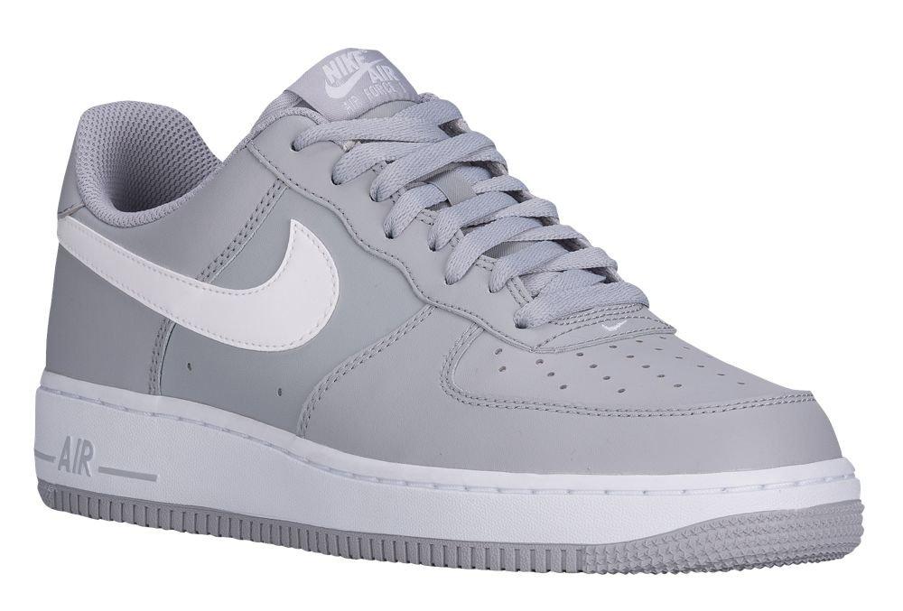 [ナイキ] Nike Air Force 1 Low - メンズ バスケット [並行輸入品] B071X46T12 US12.0 Wolf Grey/White/Wolf Grey