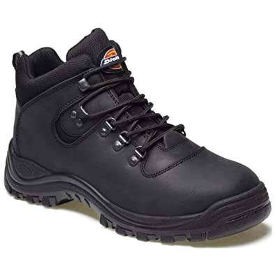 MENS DICKIES FURY SAFETY WORK HIKER BOOTS LADIES STEEL TOE CAP SIZE UK 4-12 c8101a8d5442