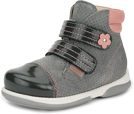 Memo Alex Girls' Corrective Orthopedic High-Top Leather Boot Diagnostic Sole
