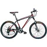 GOWAY(ゴーウェイ)マウンテンバイク 自転車 26インチ シマノ純正21段変速 Wディスクブレーキ