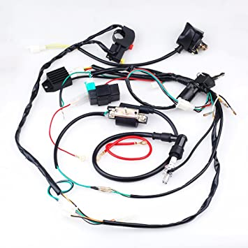 amazon cisno plete electrics cdi coil wiring loom harness Wiring Gang Duplex Receptacle Outlet amazon cisno plete electrics cdi coil wiring loom harness kick for 50cc 110cc 125cc atv dirt bike automotive