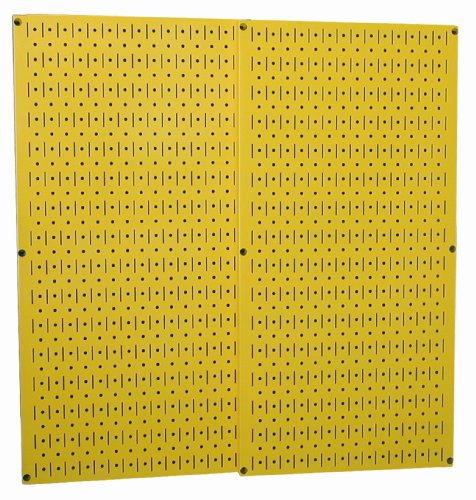 Wall Control 30-P-3232Y Yellow Metal Pegboard Pack by Wall Control